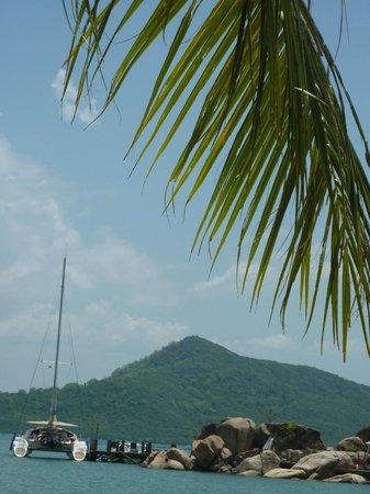 An Lam Ninh Van Bay Villas: пляж