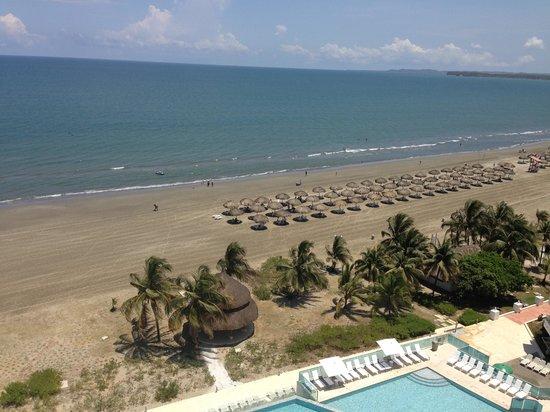 Hotel Las Americas Torre del Mar: Vista desde habitacion