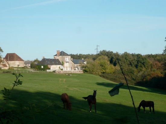 Domaine de Montgenoux: L'arrivée