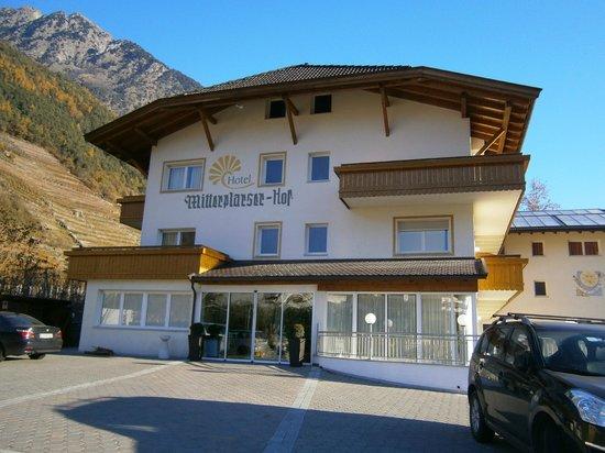 Hotel Mitterplarserhof: Ingresso Hotel