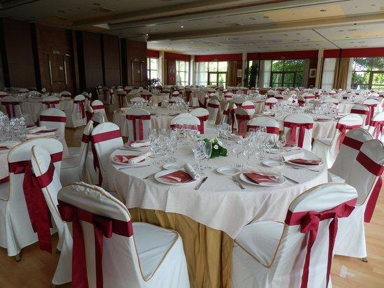 Abba Burgos Hotel: salle de réception