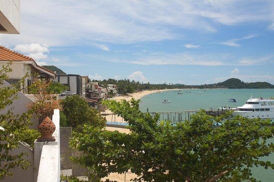 L' Hacienda: View from the balcony