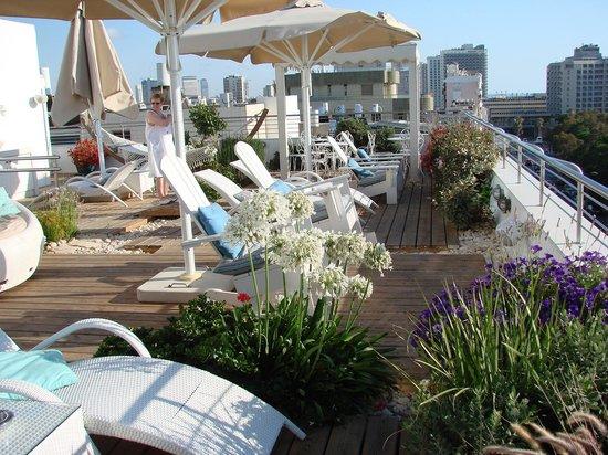 Shalom Hotel & Relax Tel Aviv - an Atlas Boutique Hotel: La terrasse