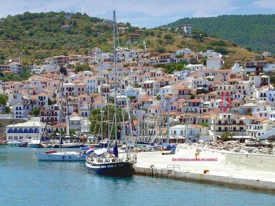 Hotel Georgios L.: Η υπέροχη τοποθεσία του ξενοδοχείου