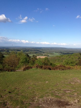 Hindhead Commons and the Devil's Punch Bowl: Stunning
