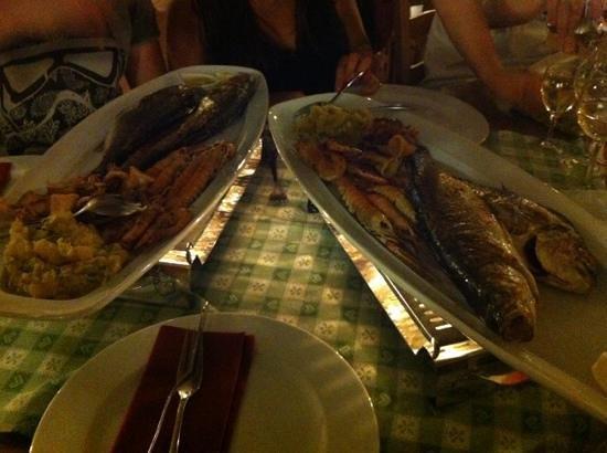 """Fancita : gran piatto di pesce """"Claudia"""" ottima qualità consigliatissimo"""