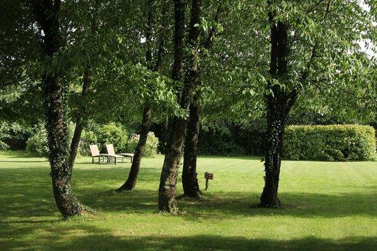 Hotel le Clos : Peaceful garden