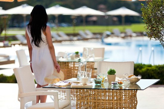 Porto Sani: Lagoon Restaurant