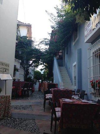 La Tienda: внутренний дворик