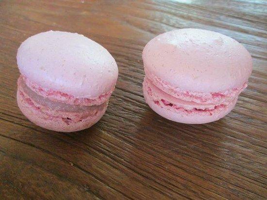 Delicat & Sens: Macaron framboise maison