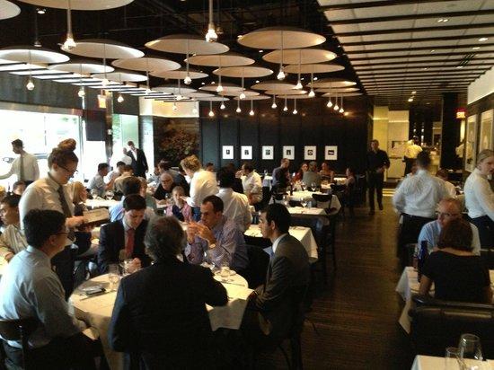 La sala da pranzo picture of north end grill new york for La sala da pranzo