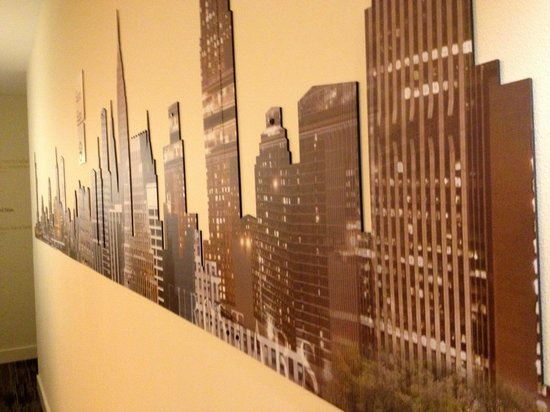 Dylan Hotel NYC: Skyline privato