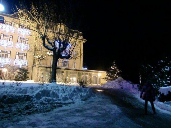 Miramonti Majestic Grand Hotel: facciata dell'hotel