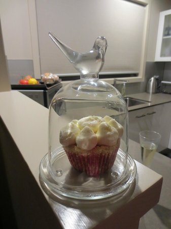 سيدارز ماونت فيو: Welcome gift - delicious!