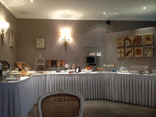 Hotel Villa d'Est: Breakfast buffet