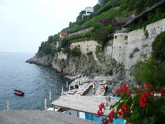 Santa Caterina Hotel: panorama dall'hotel