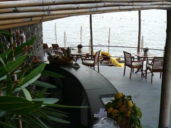 Santa Caterina Hotel: terrazza a mare