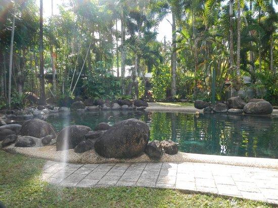 beautiful tropical pool foto di eco village resort. Black Bedroom Furniture Sets. Home Design Ideas