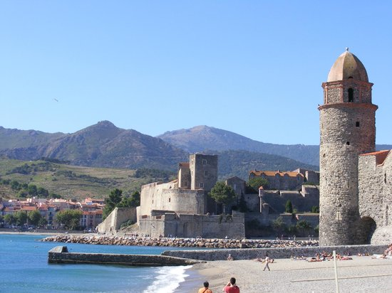 Chateau picture of the royal castle chateau royal - Chateau royal collioure ...