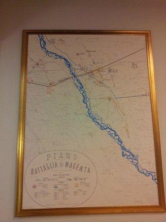 Mappa della battaglia di magenta foto di casa giacobbe for Creatore della mappa della casa