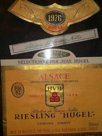 Hugel et Fils : 76iger Riesling S.G.N.