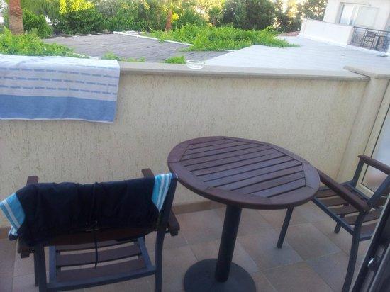 Andreas & Melani Beach Hotel: Balkon