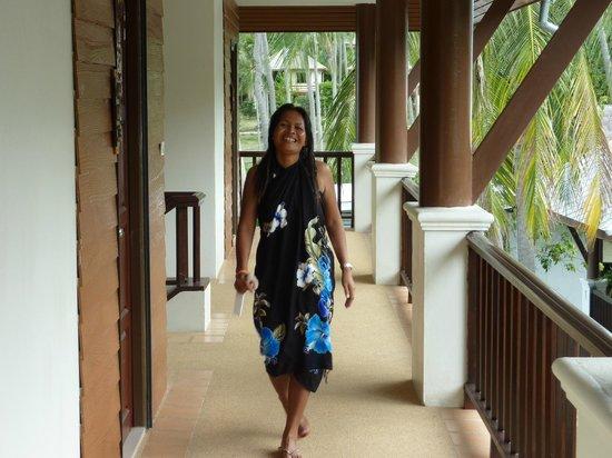 Lamai Buri Resort: Weg zum Zimmer