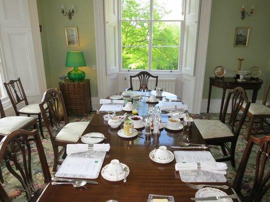 De Montalt Wood : Breakfast room