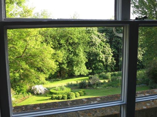 De Montalt Wood : View from the Hollies bedroom