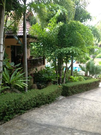 Vanida Garden Resort : Upmarket cabins