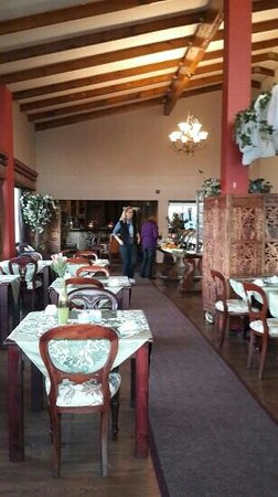 Misty Waves Boutique Hotel Hermanus: dinning area