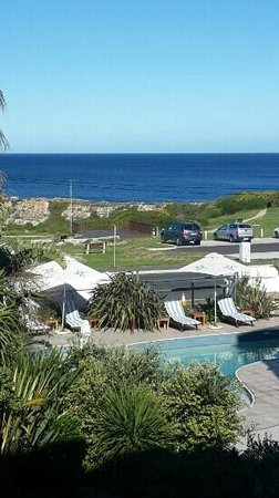 Misty Waves Boutique Hotel Hermanus : Amazing view from our balcony