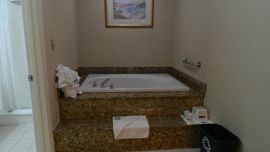 Travelodge Santa Monica: Jaccuzi