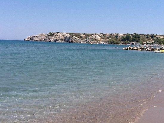 Eden Village Myrina Beach: spiaggia
