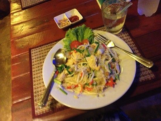 Tamarin restaurant: pad thai with chicken :-)