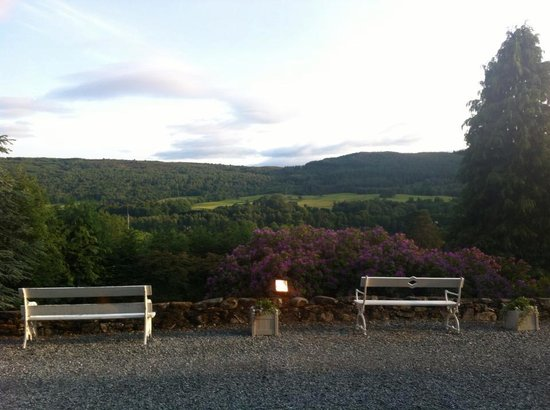 Knockendarroch Hotel & Restaurant : View from the downstairs lounge