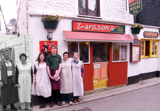 Larsson's Coffee House & Creperie : Larsson' 2013 Postcard pic.
