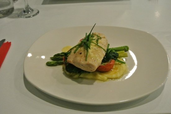 Flight Restaurant: 'Melt in your mouth' Fish of the Day