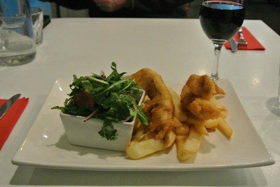 Flight Restaurant: Fabulous 'Fish and Chips'