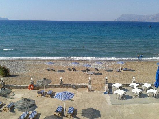 Galini Beach Hotel: vista dalla camera