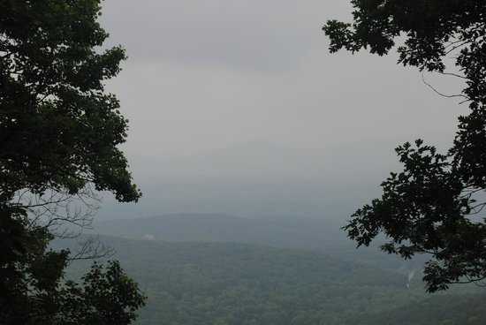 Len Foote Hike Inn: View from the sunrise room