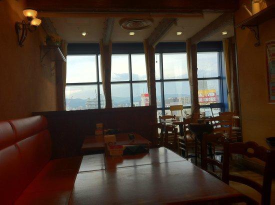 Napoli pizza & pasta Mar: Mar Interior