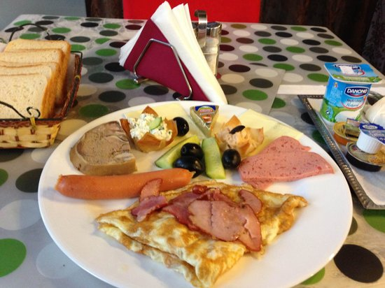 Zava Boutique Hotel: Breakfast -one of the options