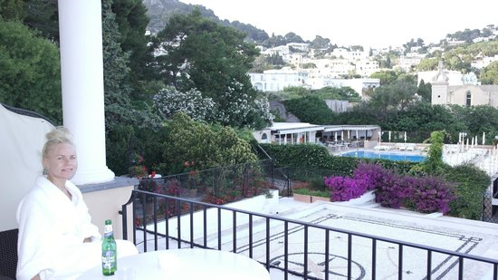 Hotel Luna: Another view from our balcony