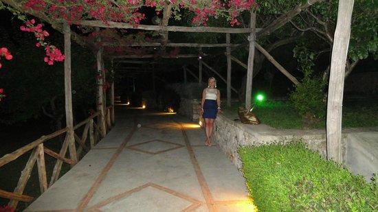 Hotel Luna: Entrance to the Luna property