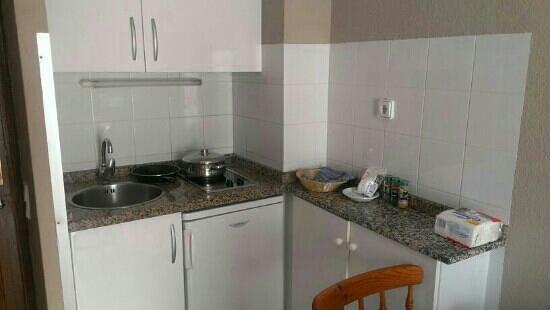 Apartamentos RF Bambi: la cocina