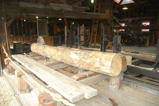 Hanford Mills Museum: Saw Mill