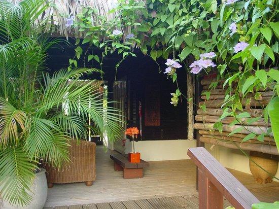 Bamboo Bali Bonaire - Boutique Resort: Eingangsbereich Sumatra