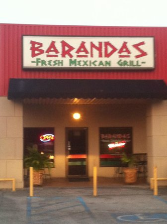 Barandas Fresh Mexican Grill: Broussard Mexican Food