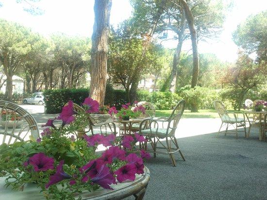 Principina a Mare, Italie: il giardino